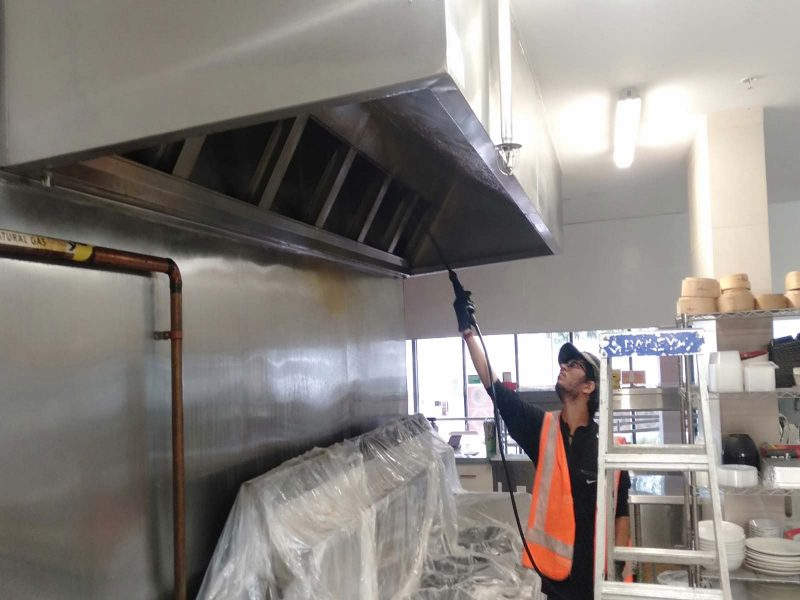 kitchen sink canopy cleaning