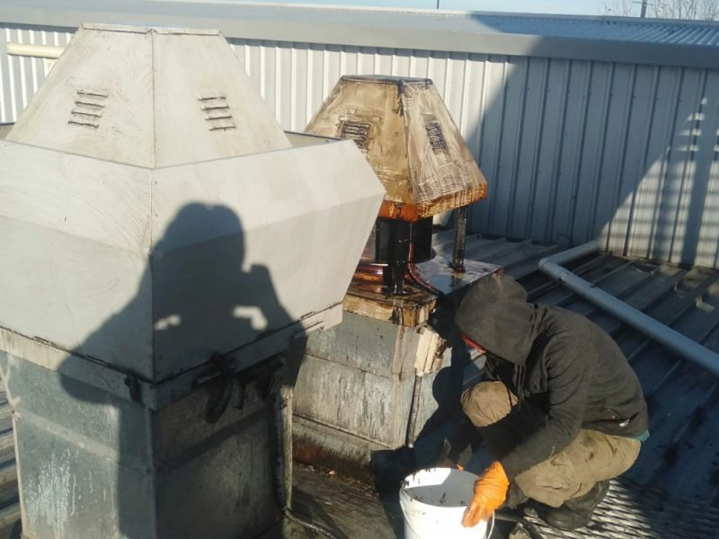 roof top exhaust system cleaning